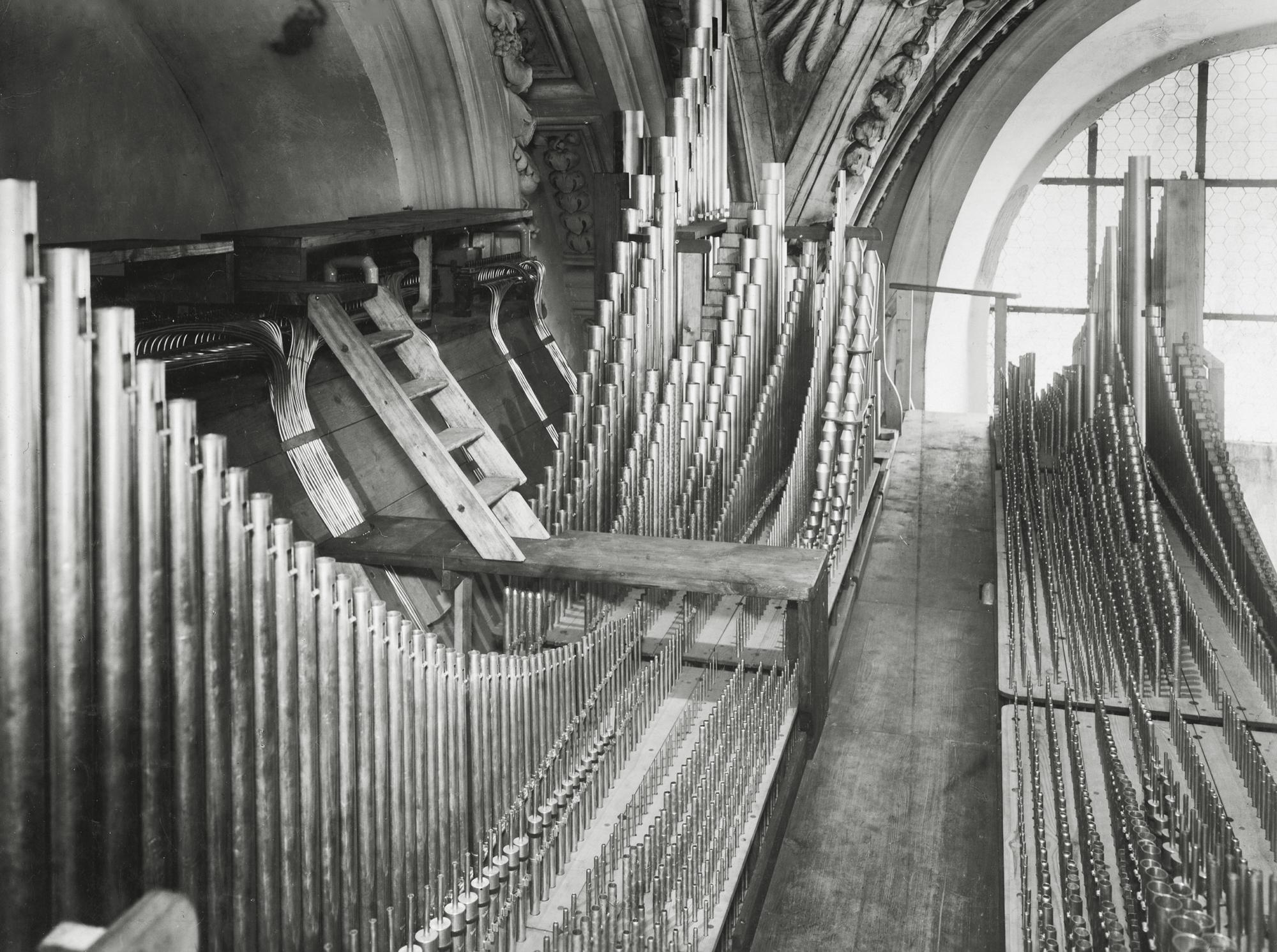 Steinmeyer Archiv Bild 4 Domorgel 1928