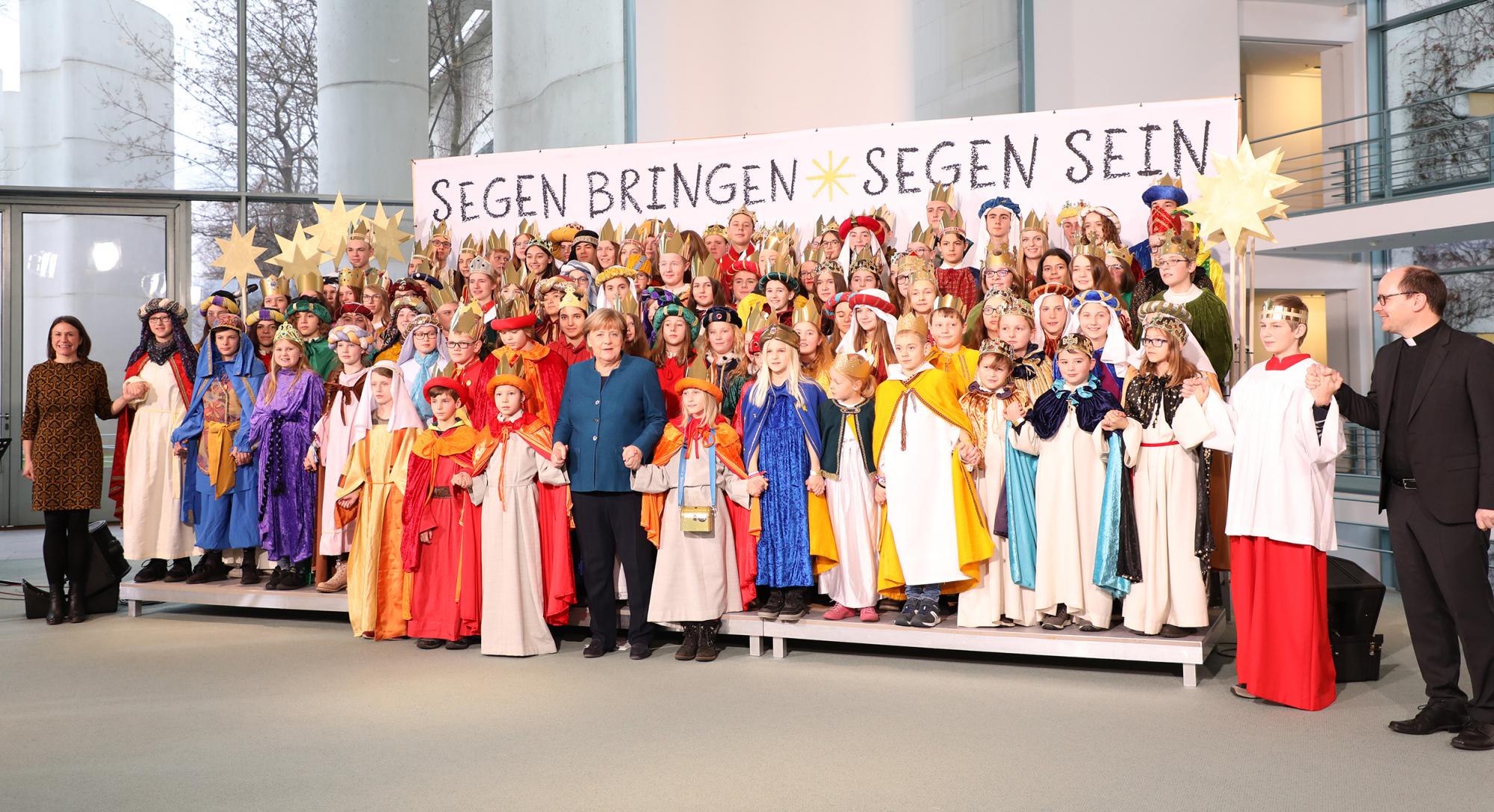 Sternsinger Bundeskanzleramt 4low