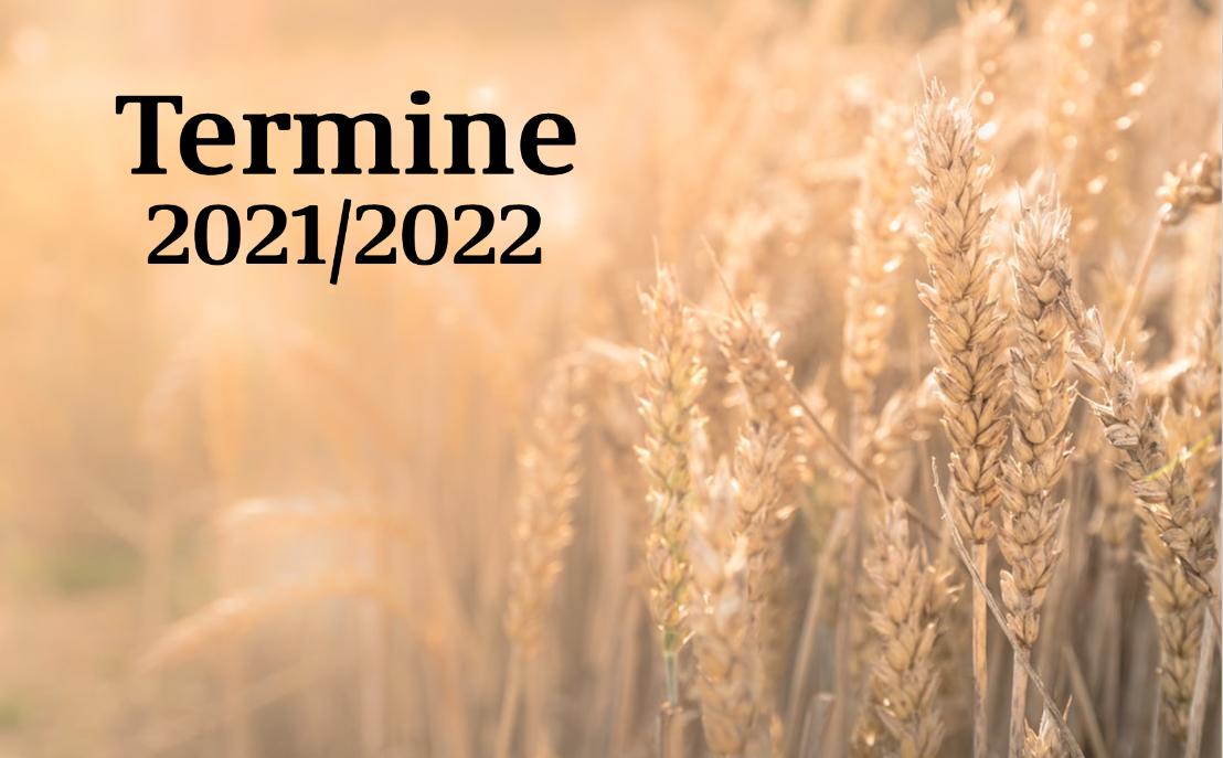 Termine 2021 2022