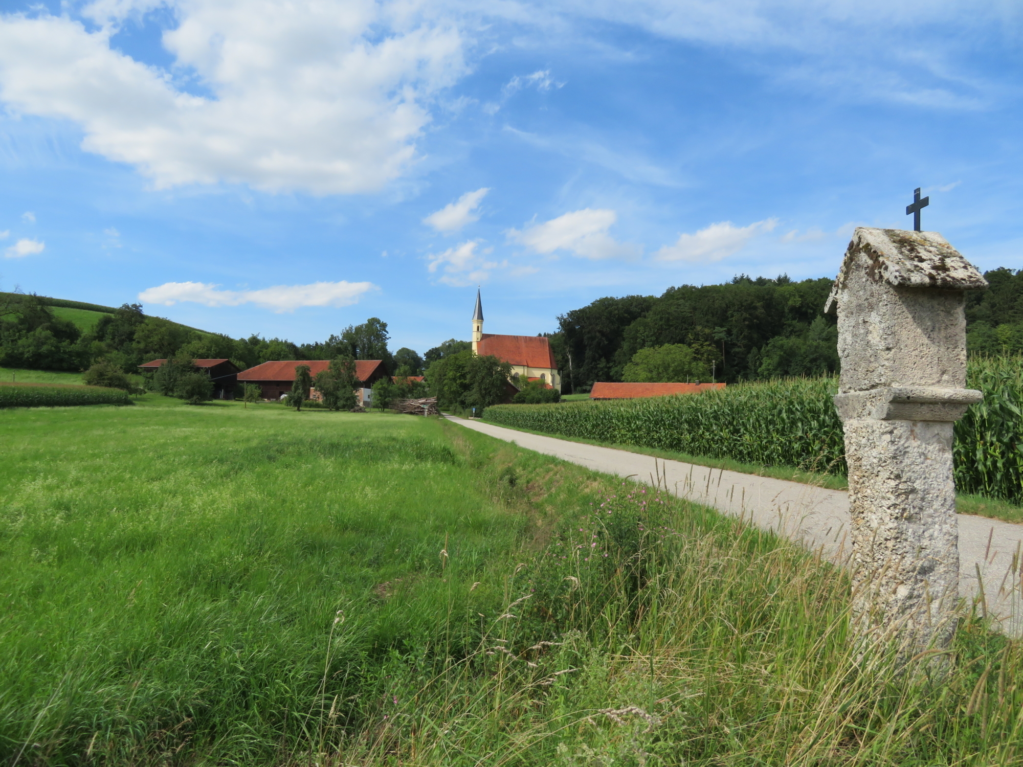 Via Nova St Anna Kirche Ering I Huber