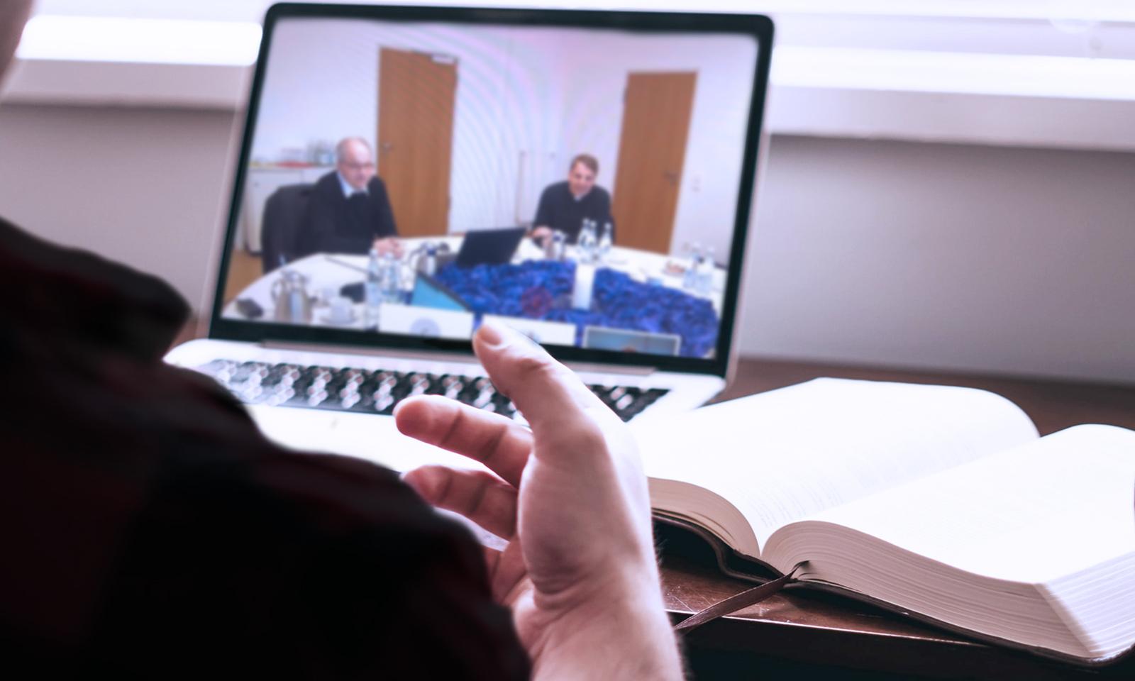 Videokonferenz Dekanekonferenz