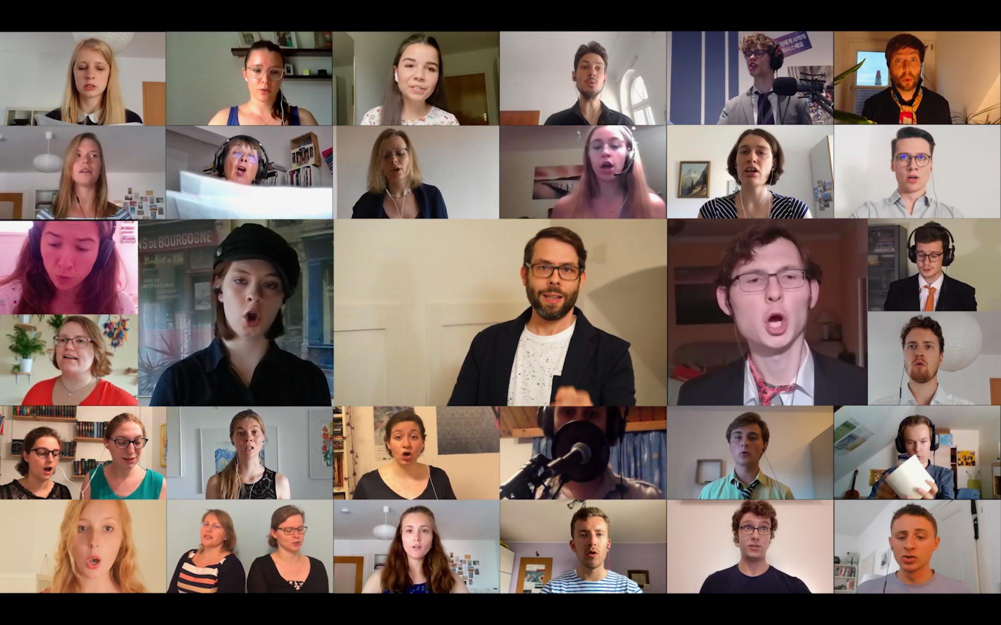 Virtueller Passauer Studentenchor So Se20