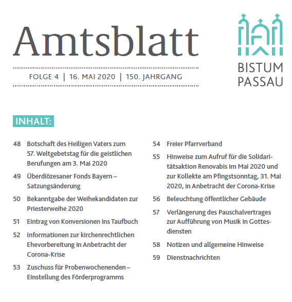 Amtsblatt Folge 4/2020