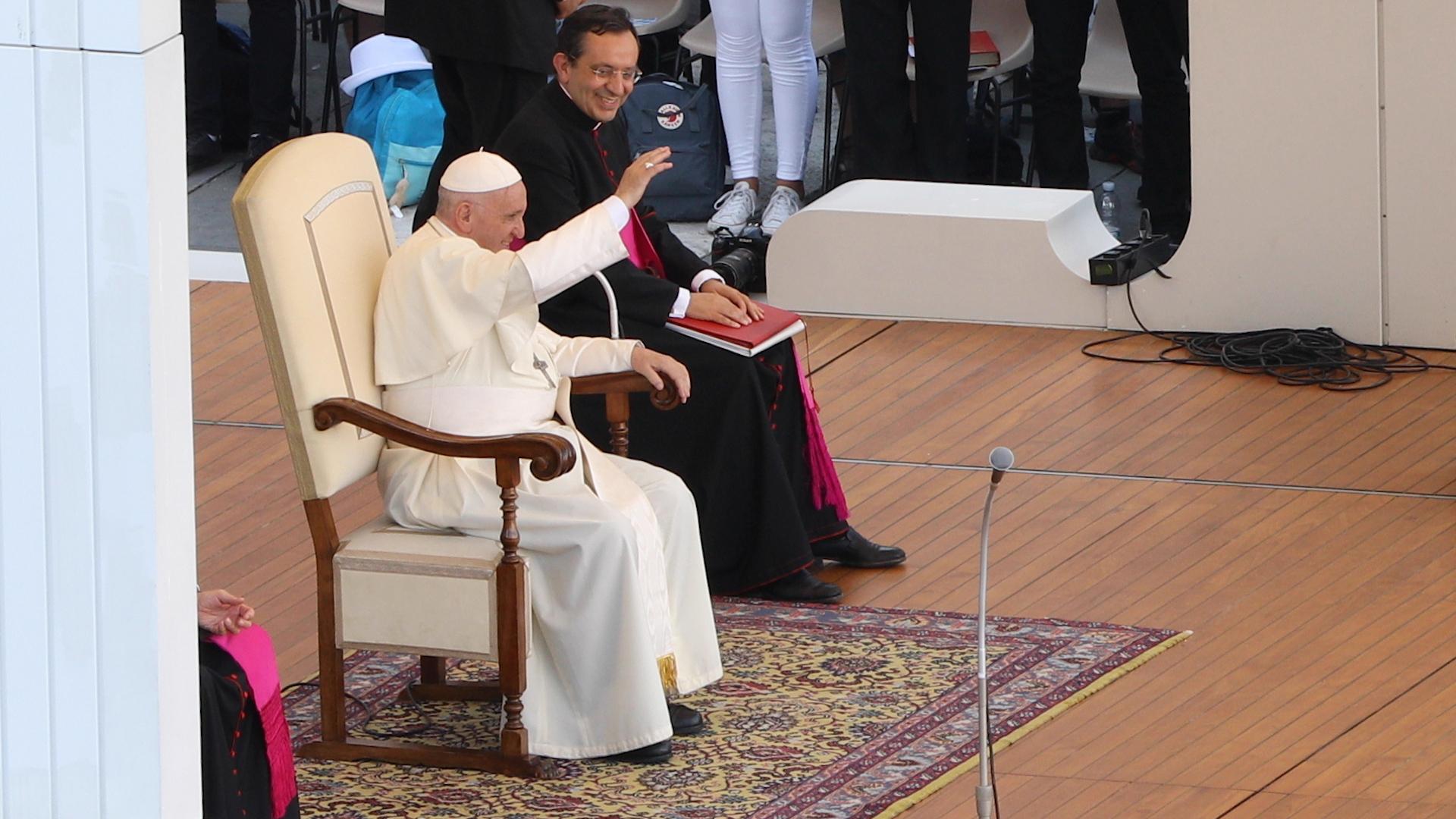Papst franziskus romwallfahrt