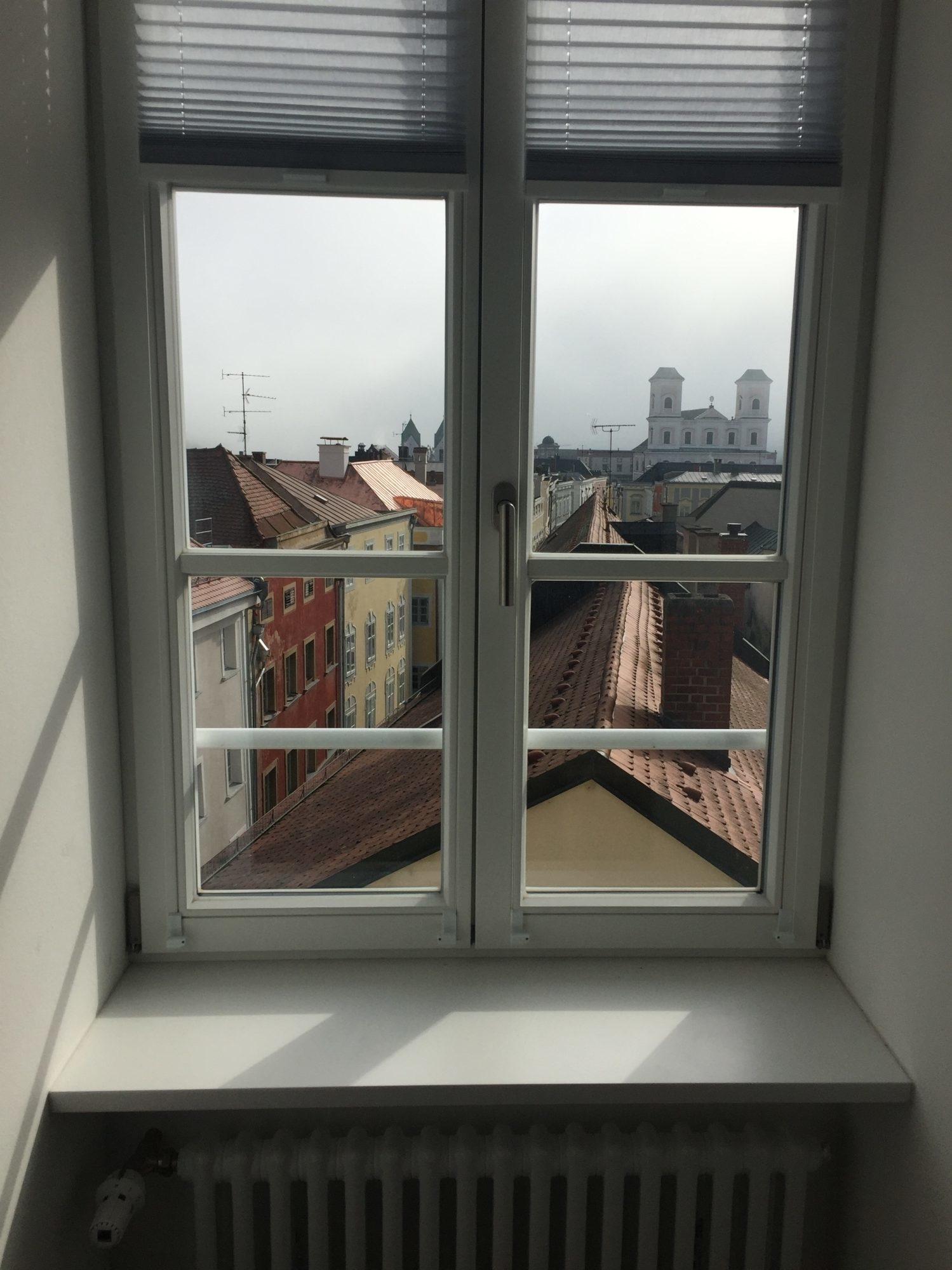 Ausblick vom Fenster