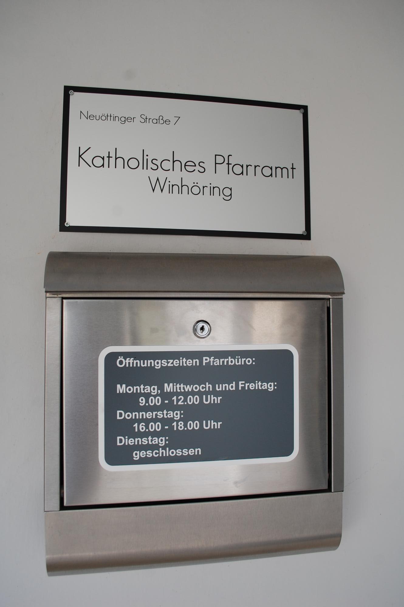 Briefkasten Winhöring