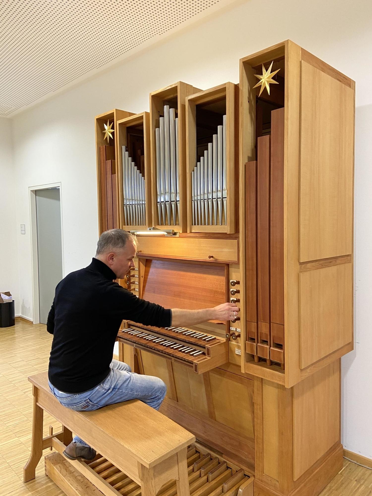 Domkapellmeister Andreas Unterguggenberger orgel PB