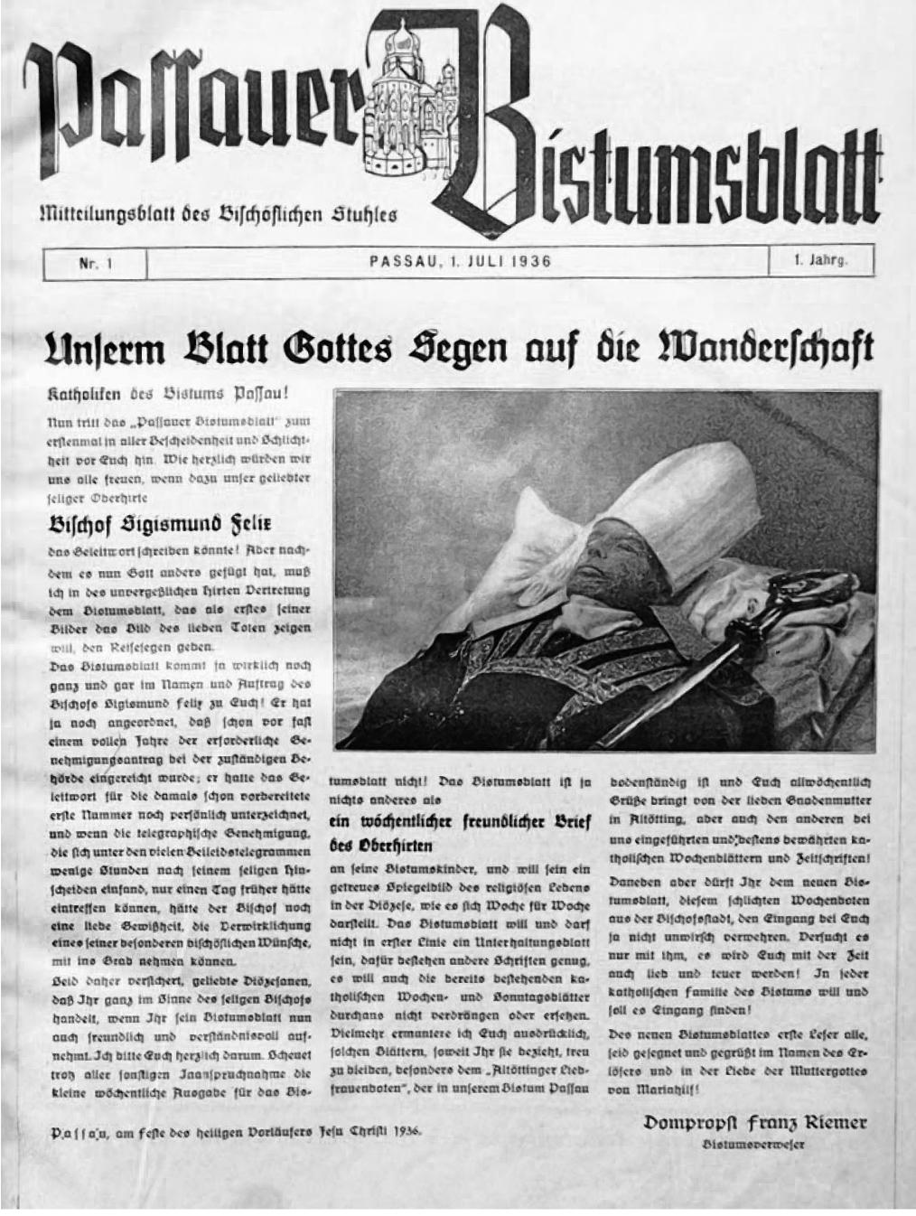 PaBi, Passau 1. Juli 1936