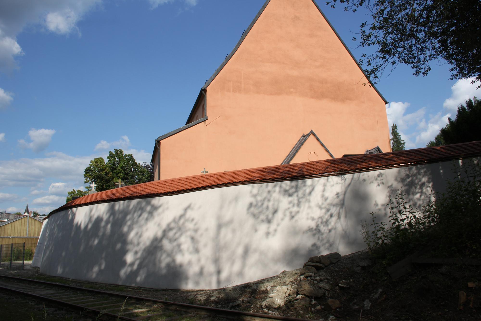 Sanierung Friedhofsmauer Passau Innstadt 05 07 2020 1
