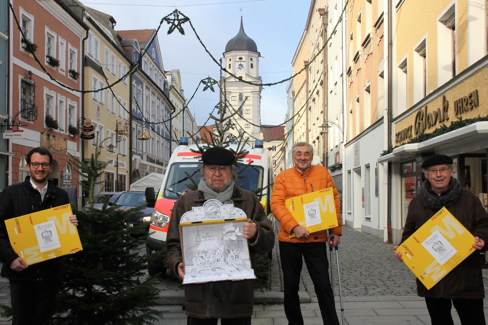 Bp BB Vilshofener Benefiz Papier Krippe Hofbrückl Benno 24 11 2020 12