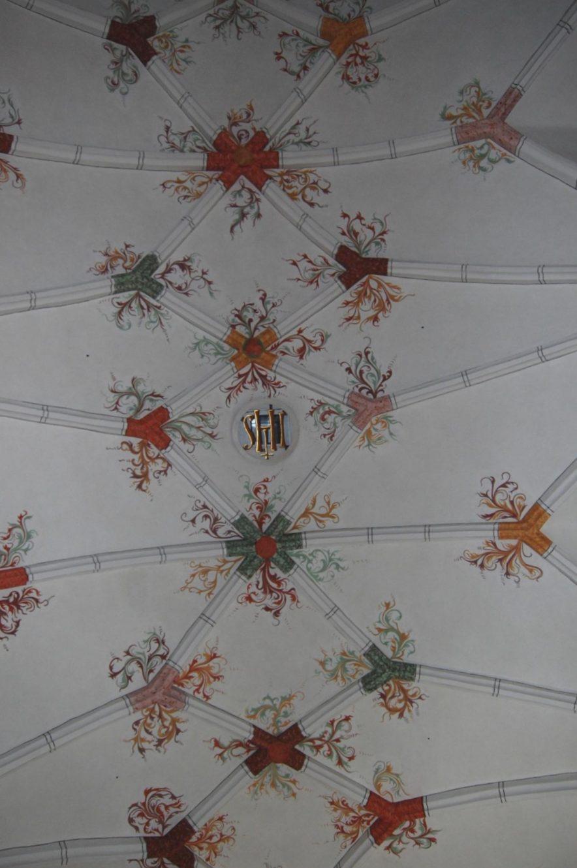 Kirchenrenovierung Netzrippengewölbe