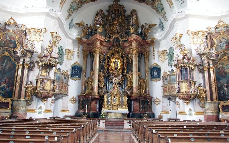 Wallfahrtskirche Marienberg bei Burghausen