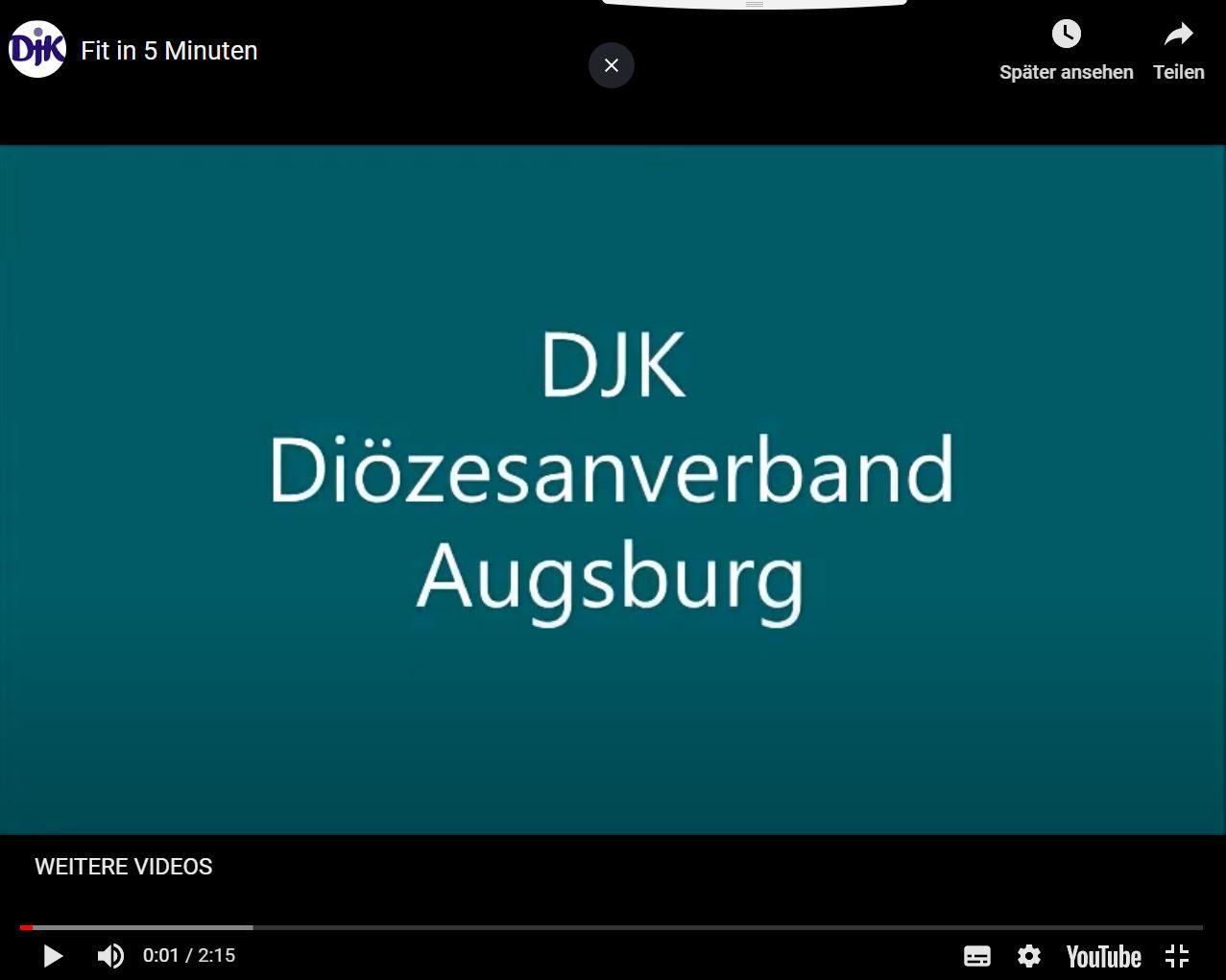 Bleib fit daheim Augsburg