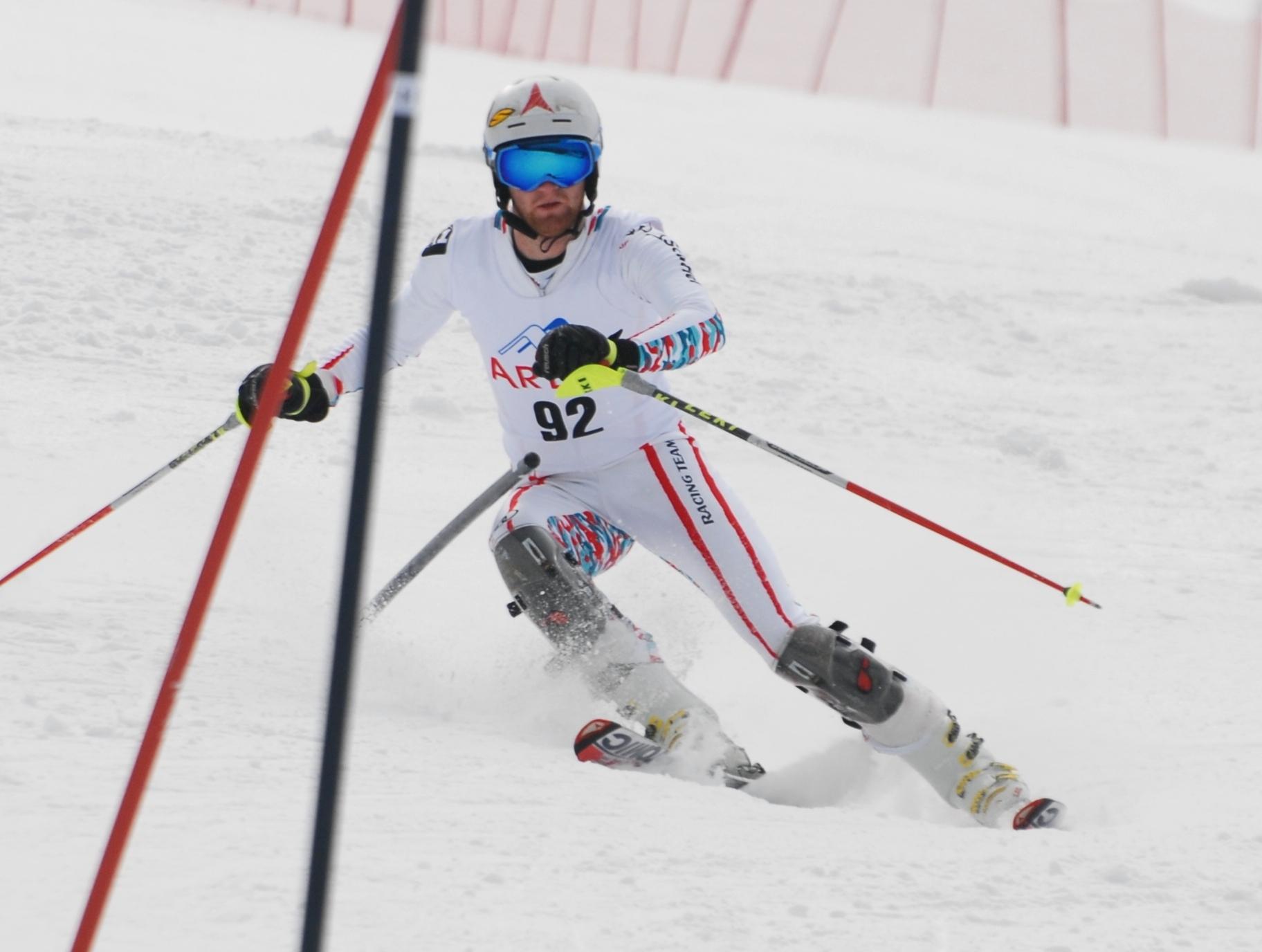 DJK Bundeswinterspiele Skifahrer