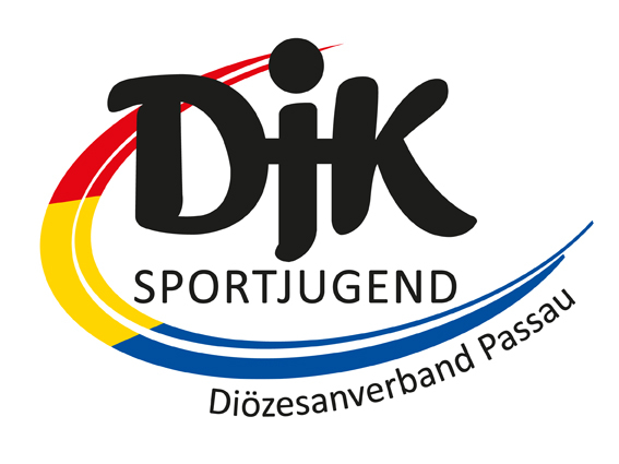 DJK Sportjugend mit Schriftzug DV Passau