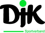 DJK Sportverband mit Schriftzug - farbig