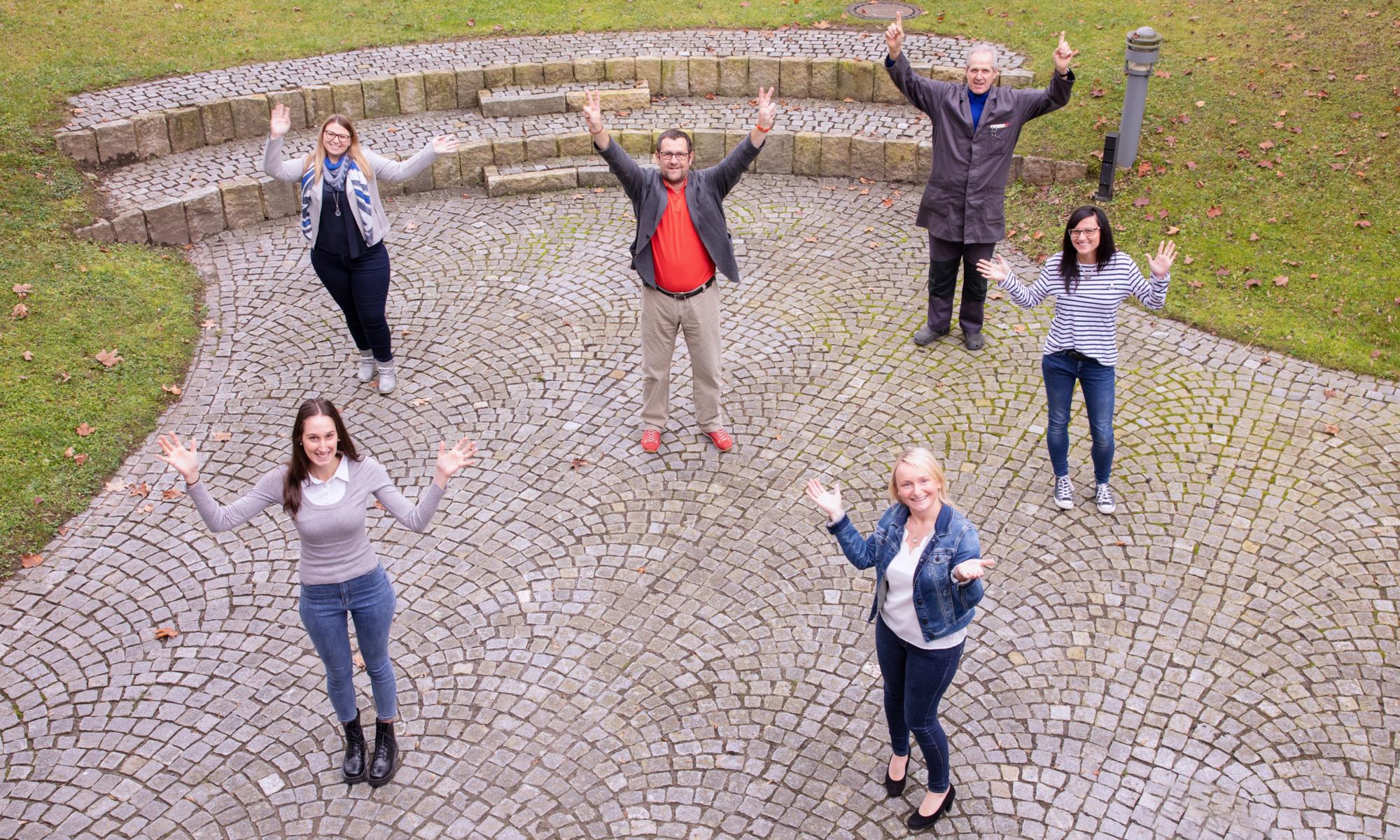 Gruppenfoto Haus der Jugend
