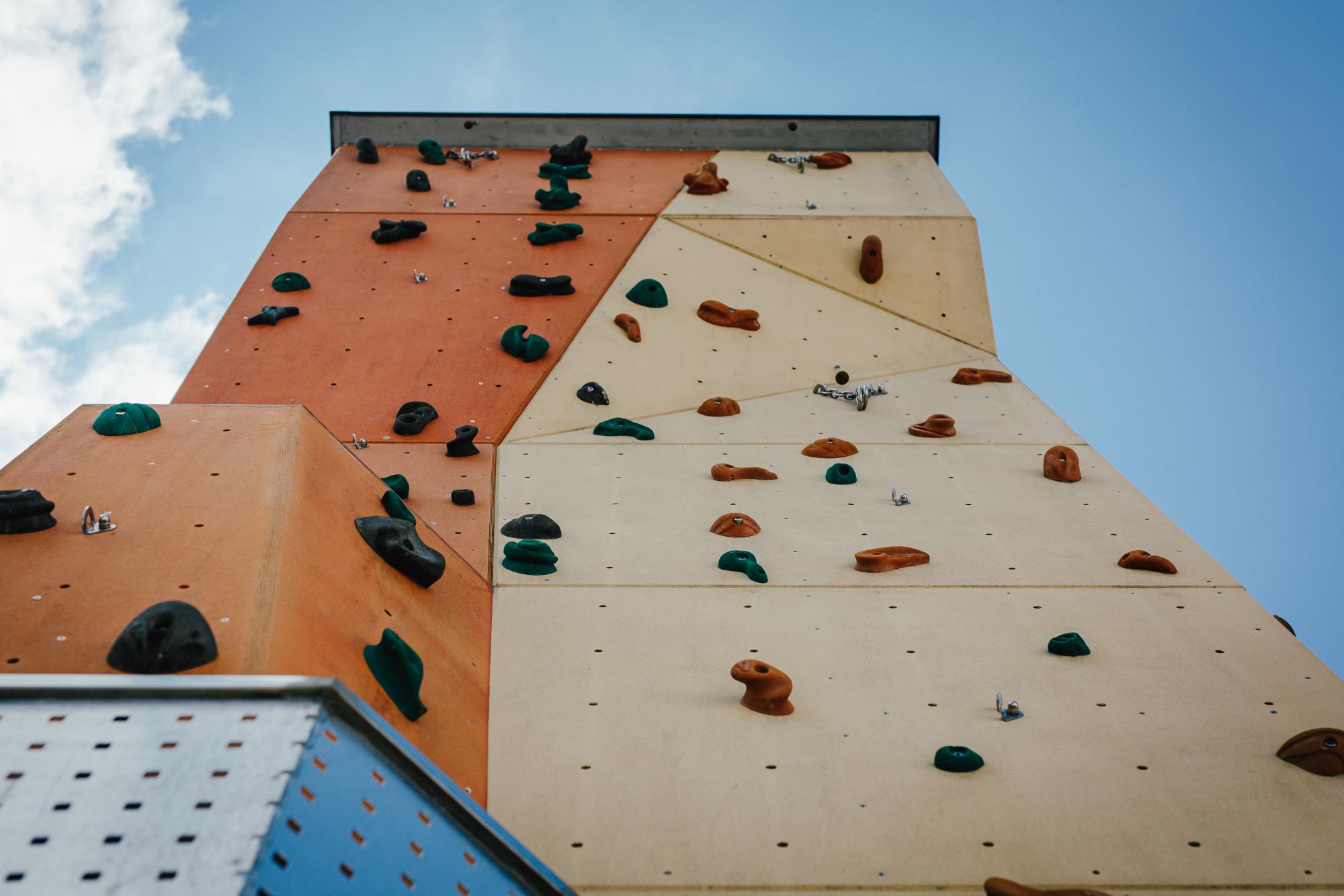 Kletterwand Haus der Jugend