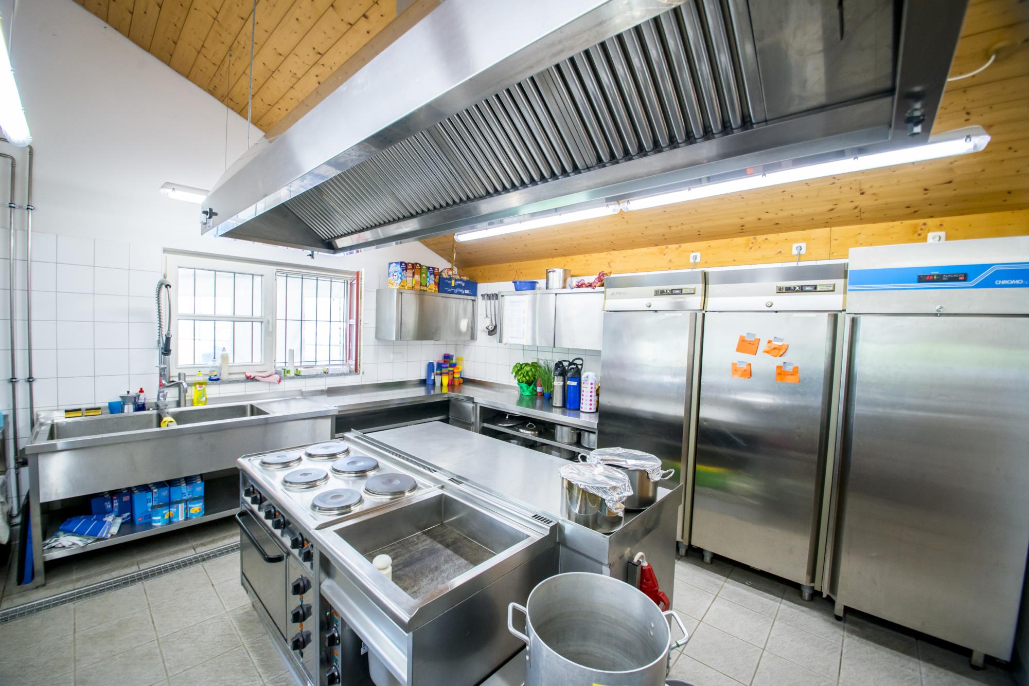Zeltlager Küche 3