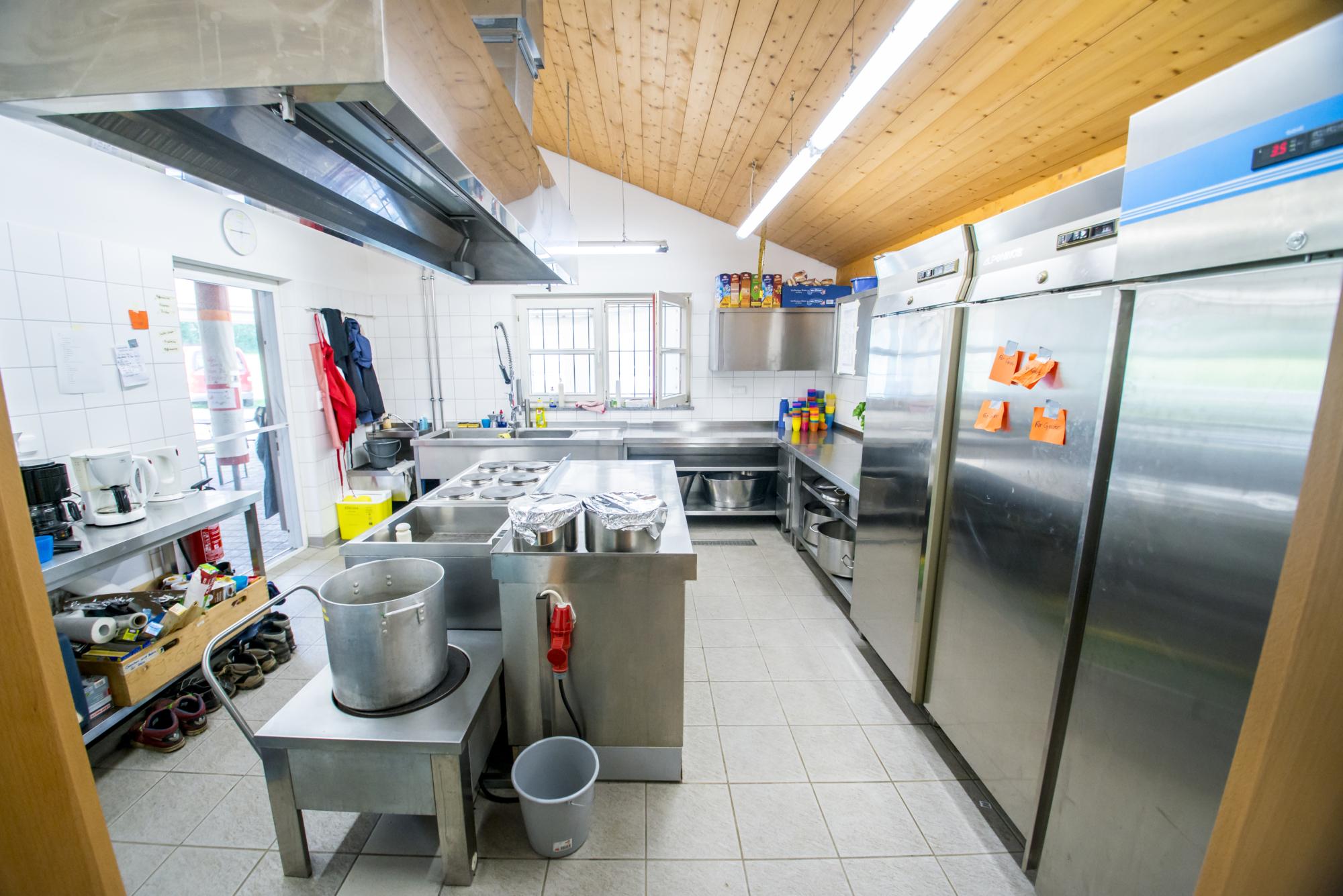 Zeltlager Küche 2