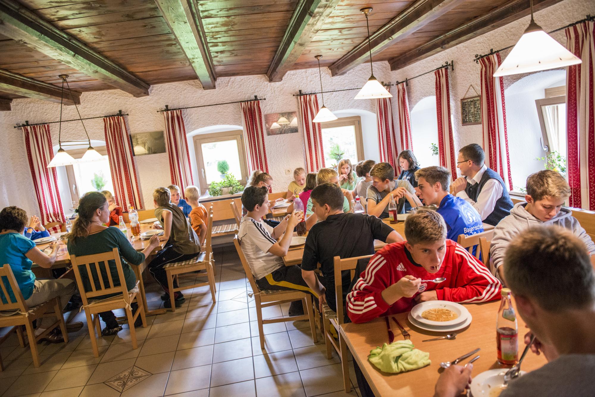 Bergheim Riedelsbach Speisesaal