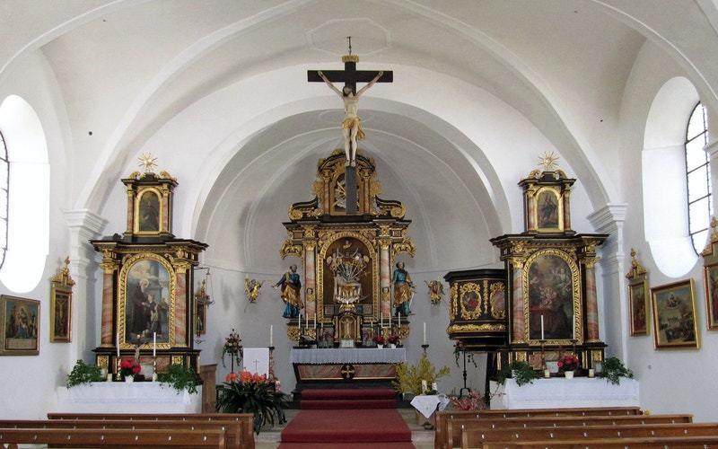 Wallfahrtskirche Mariä Himmelfahrt in Atzberg, Pfarrei Mitterskirchen