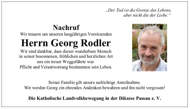 618 Nachruf Georg Rodler
