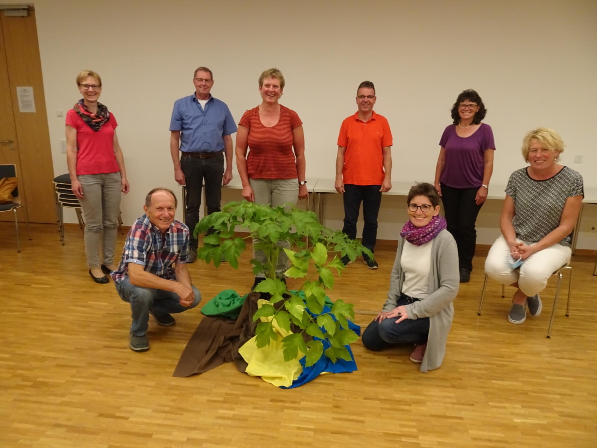 Gründungmitglieder Förderverein EINE WELT e V 11 09 2020