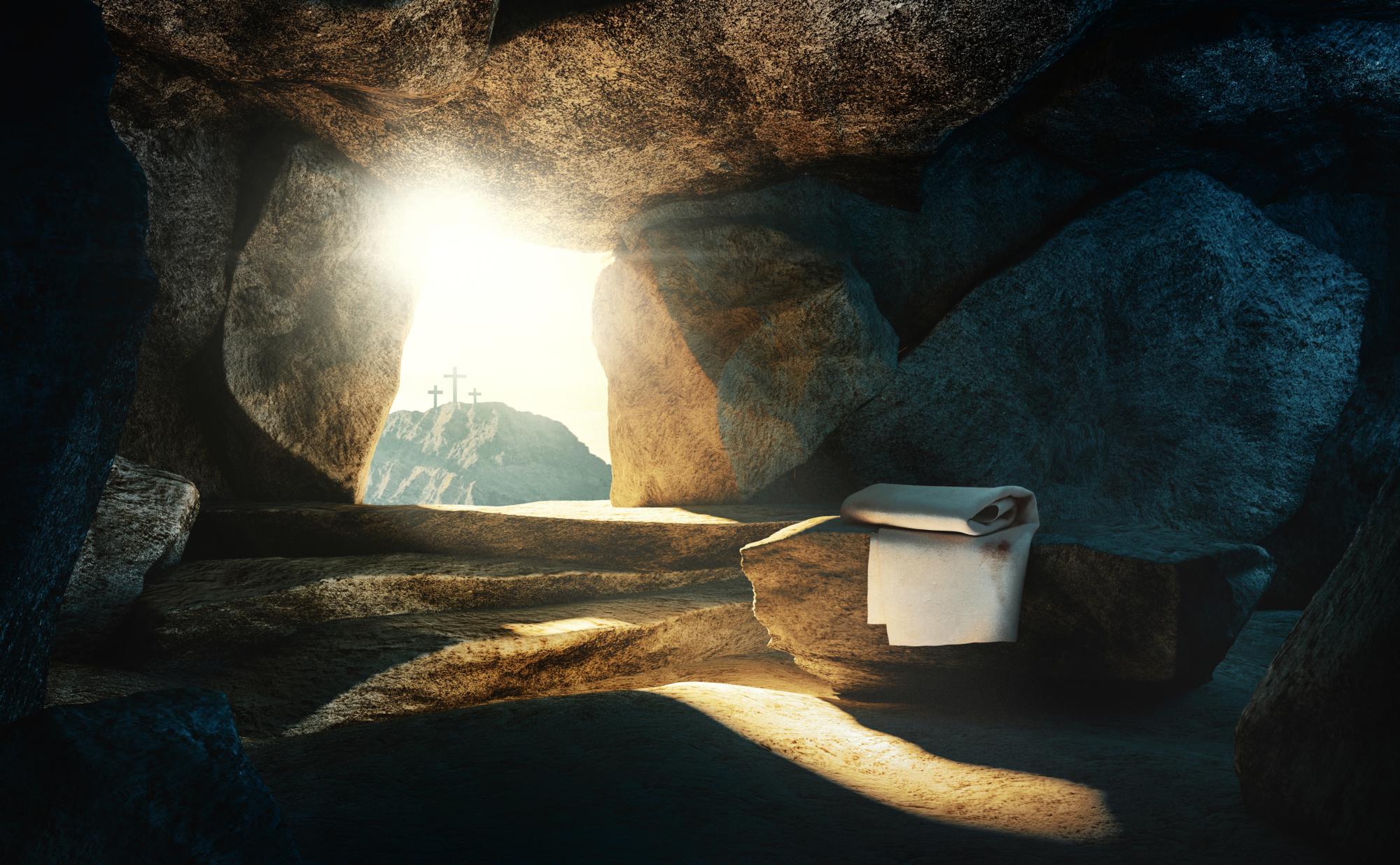 Ostern Wiederauferstehung leeres Grab 24 3 2021