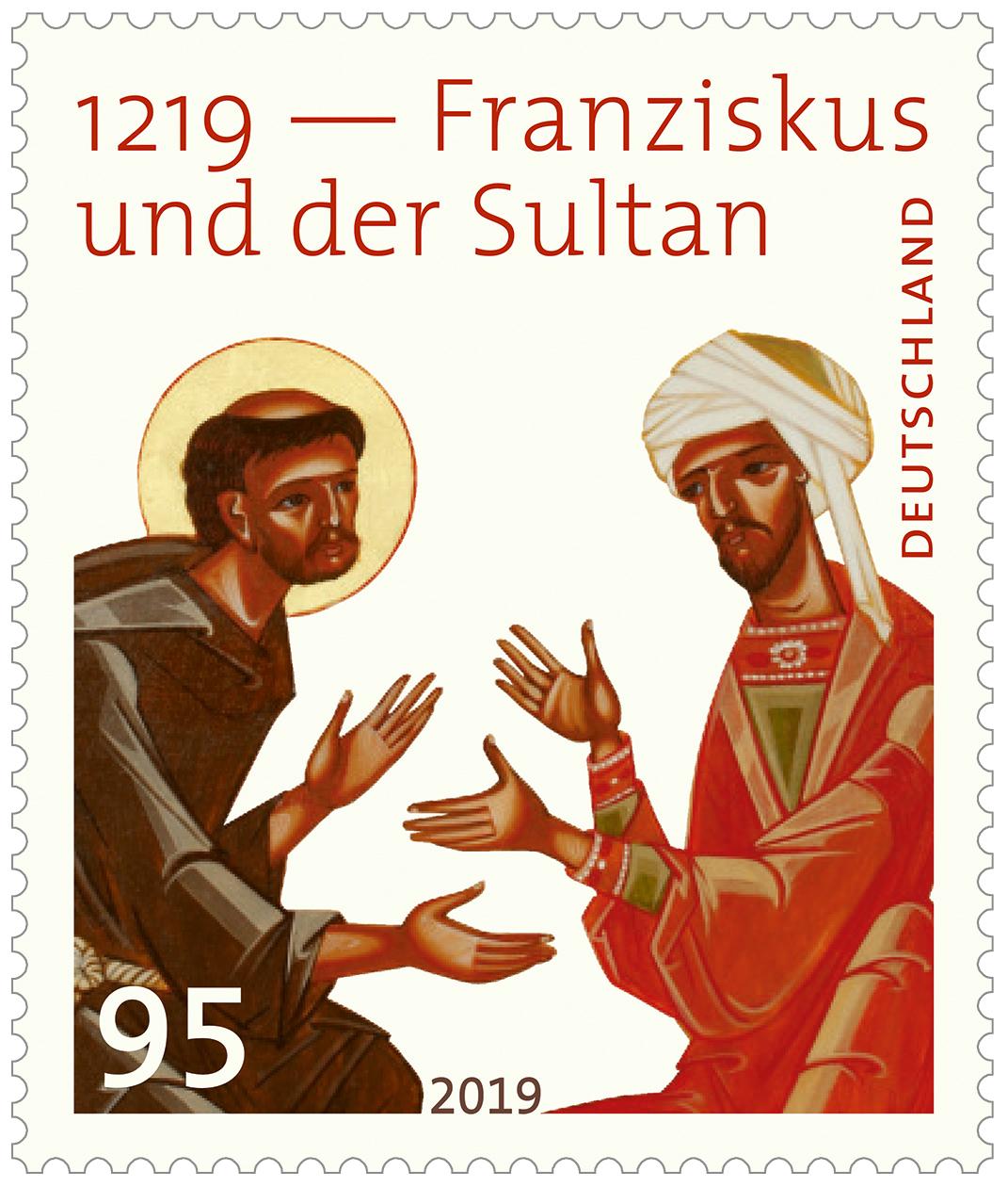 2020 01 17 aoelfb franz von assisi briefmarke sultan