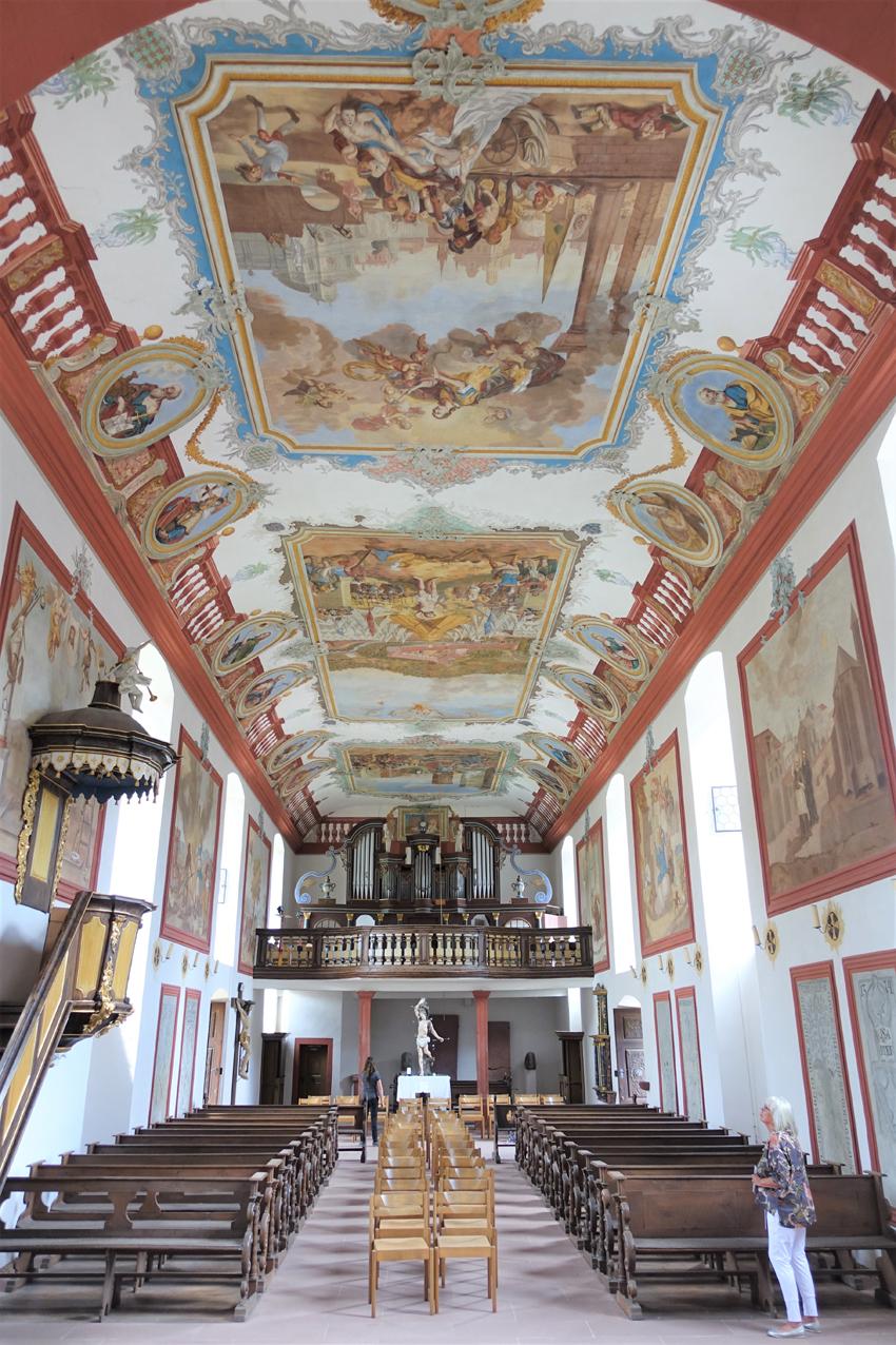 2020 08 21 aoelfb fraenkischer rotweinwanderweg klosterkirche himmelthal