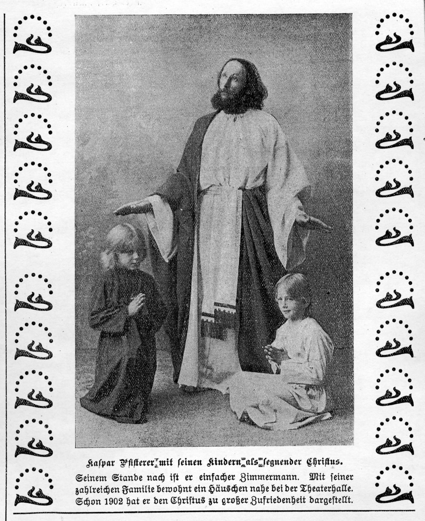 2020 125 jahre aoelfb erler passion jesus darsteller april mai 1912