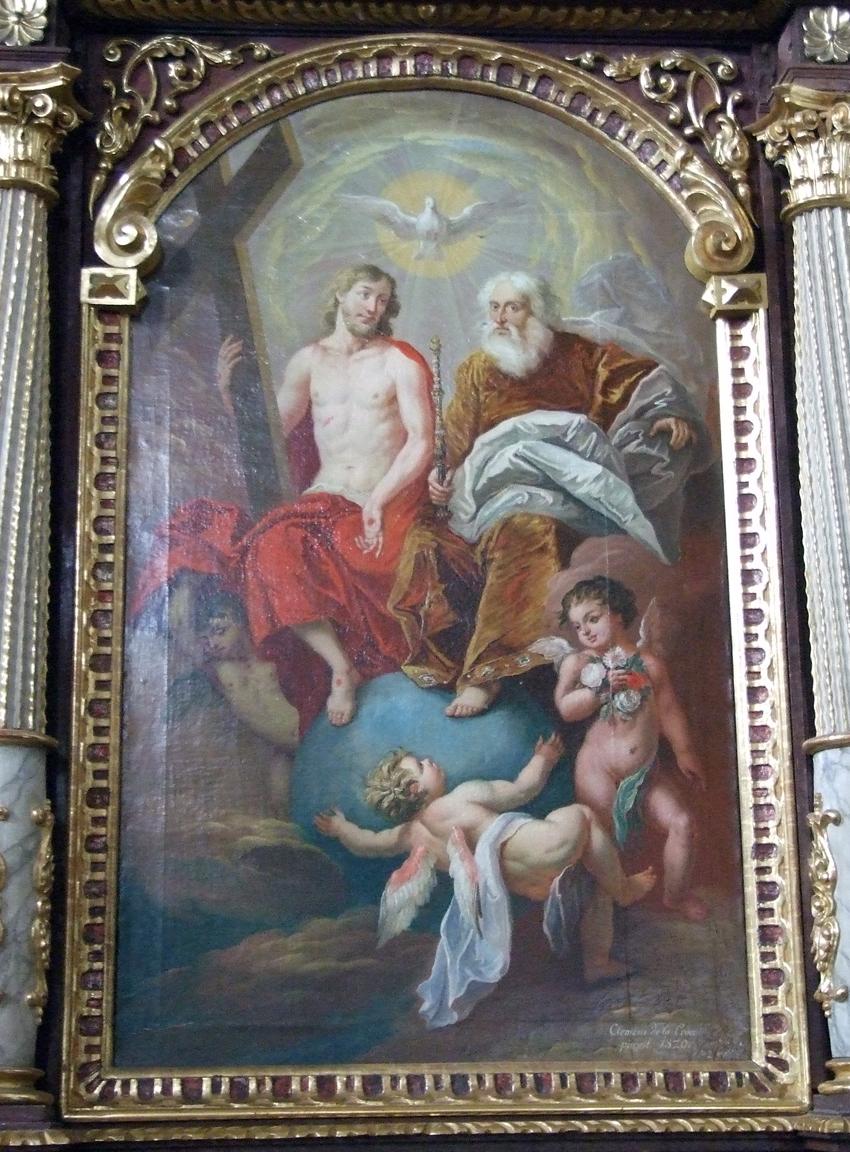 2021 05 17 aoelfb niedergottsau kirche mariae himmelfahrt bild rechter seitenaltar