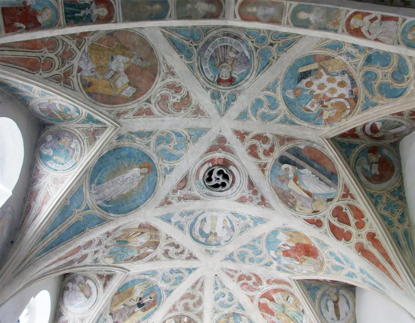 2021 05 17 aoelfb niedergottsau kirche mariae himmelfahrt fresken im presbyterium