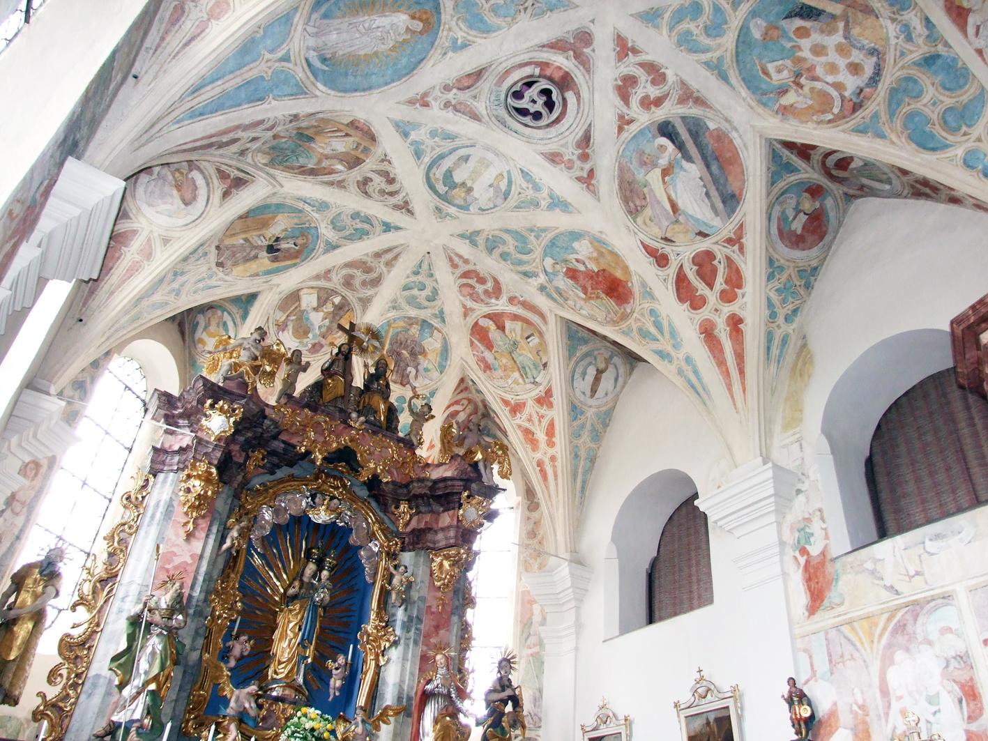 2021 05 17 aoelfb niedergottsau kirche mariae himmelfahrt fresken und gnadenbild