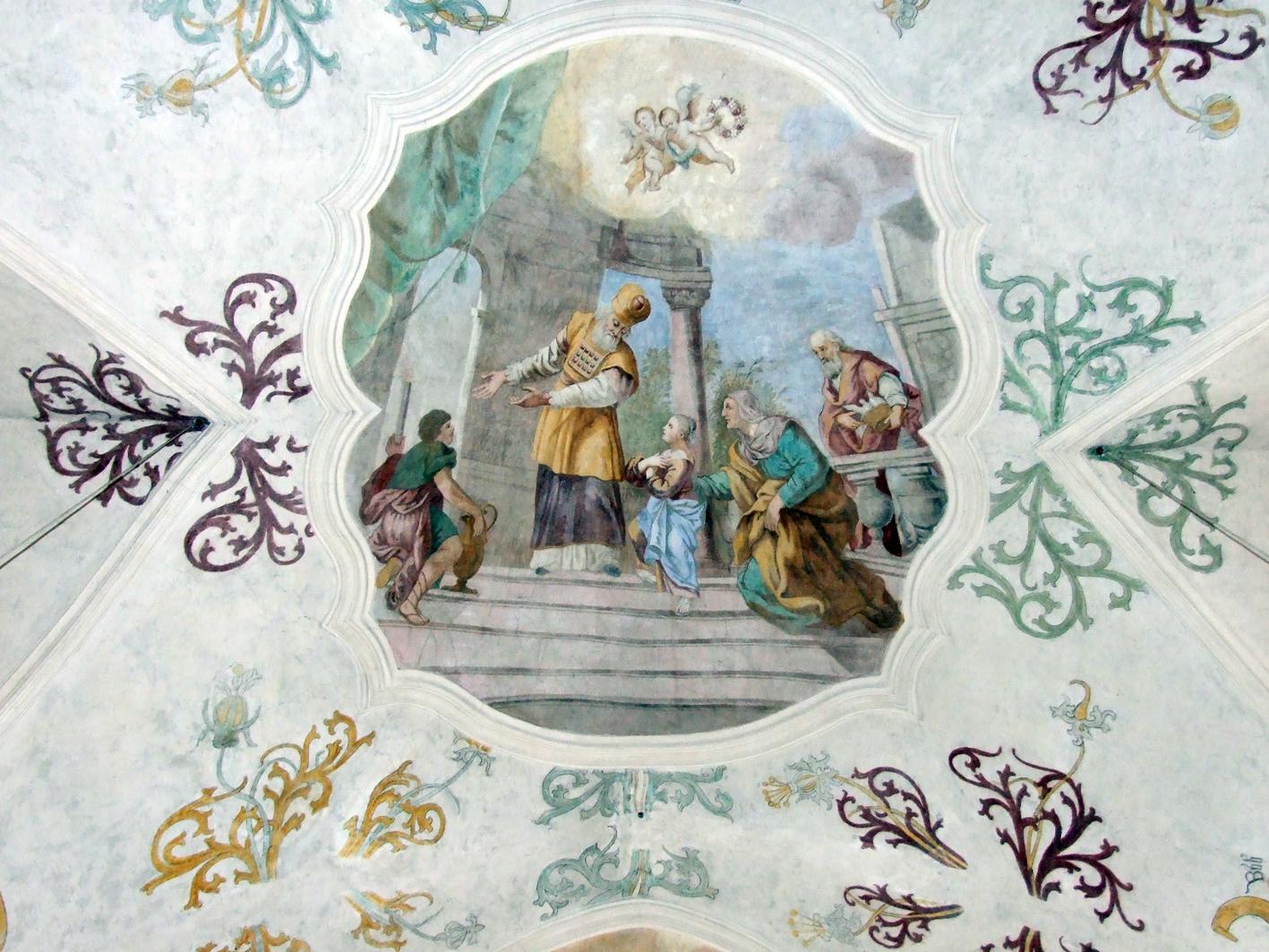 2021 05 17 aoelfb niedergottsau kirche mariae himmelfahrt fresko mariae opferung
