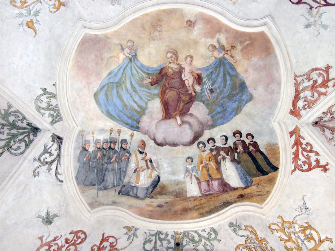 2021 05 17 aoelfb niedergottsau kirche mariae himmelfahrt fresko schutzmantelmadonna
