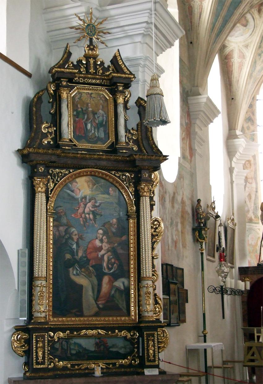 2021 05 17 aoelfb niedergottsau kirche mariae himmelfahrt linker seitenaltar2