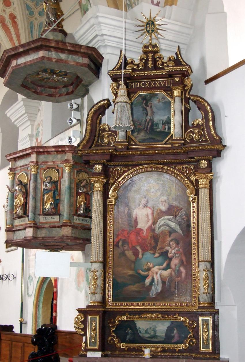 2021 05 17 aoelfb niedergottsau kirche mariae himmelfahrt rechter seitenaltar2