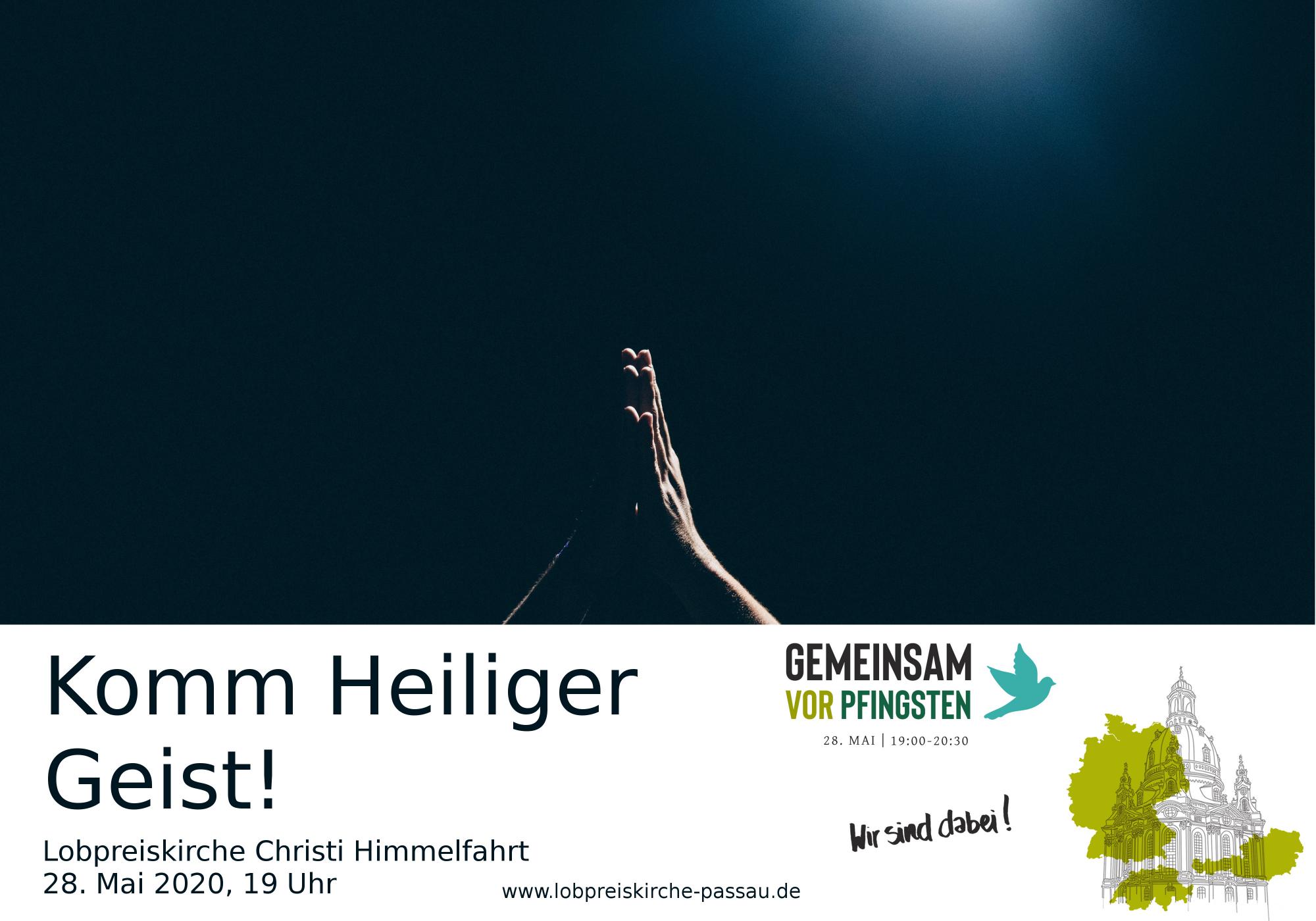 Flyer Gemeinsam vor Pfingsten 2020