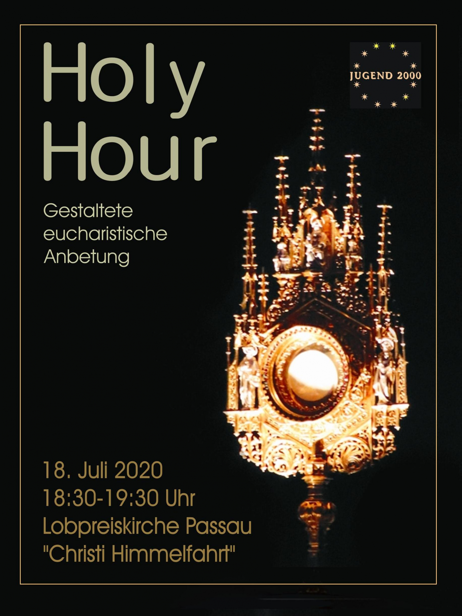 Flyer Holy Hour