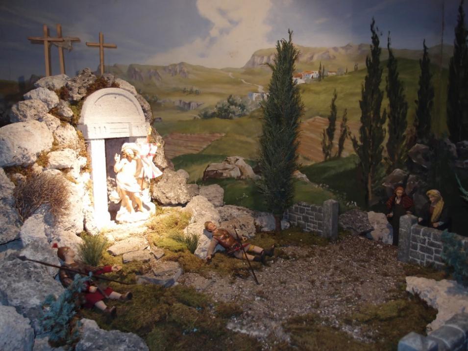 SPJ Jahreskrippe Auferstehung