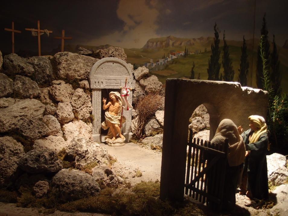 SPJ Jahreskrippe Christ Ist Erstanden