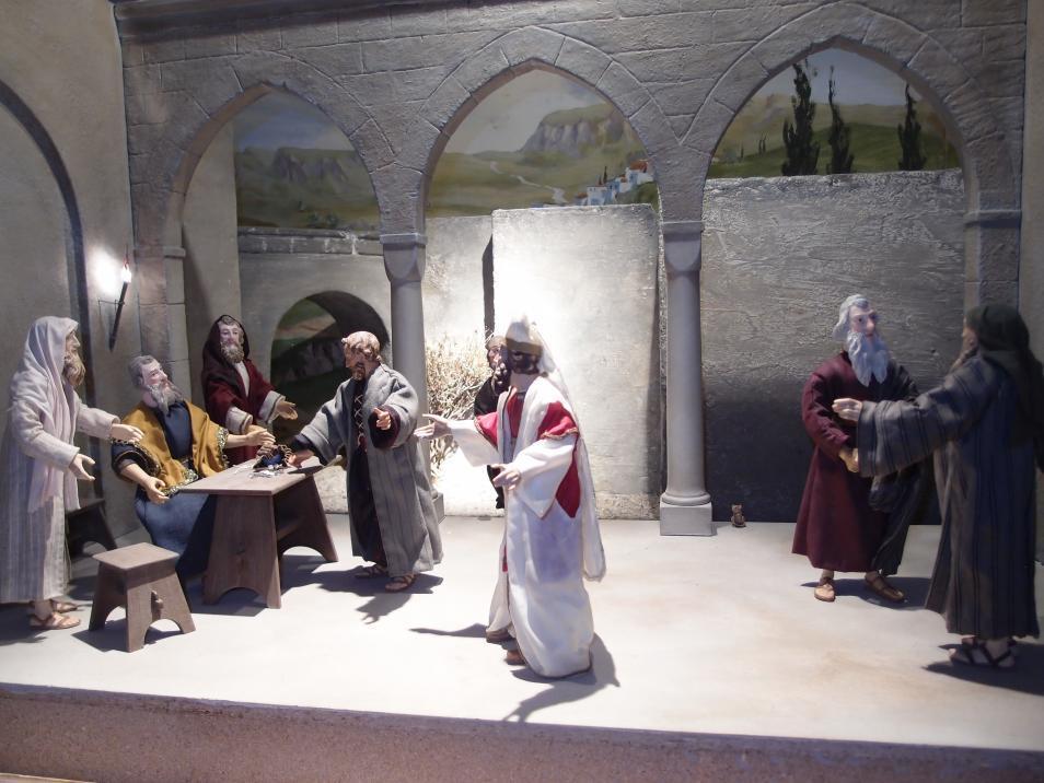 SPJ Jahreskrippe Judas Verrat