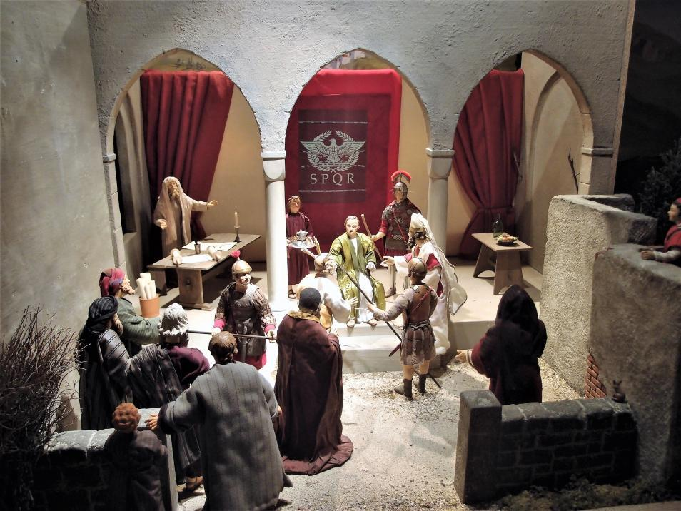 SPJ Jahreskrippe Pontius Pilatus