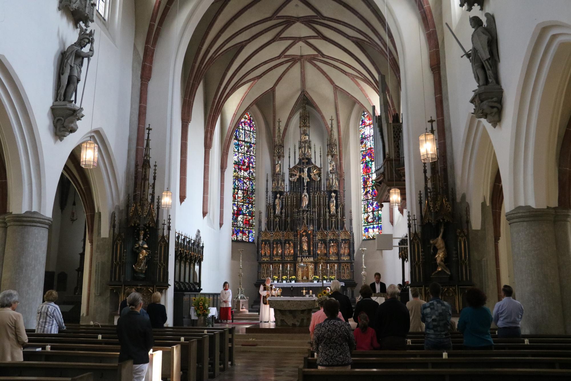2020 07 Juli 19 Abschied Lisa Hübner in St Jakob 1