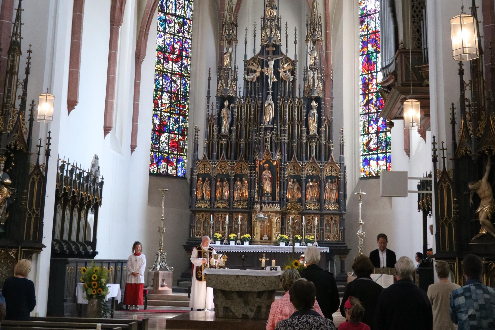 2020 07 Juli 19 Abschied Lisa Hübner in St Jakob 2 2