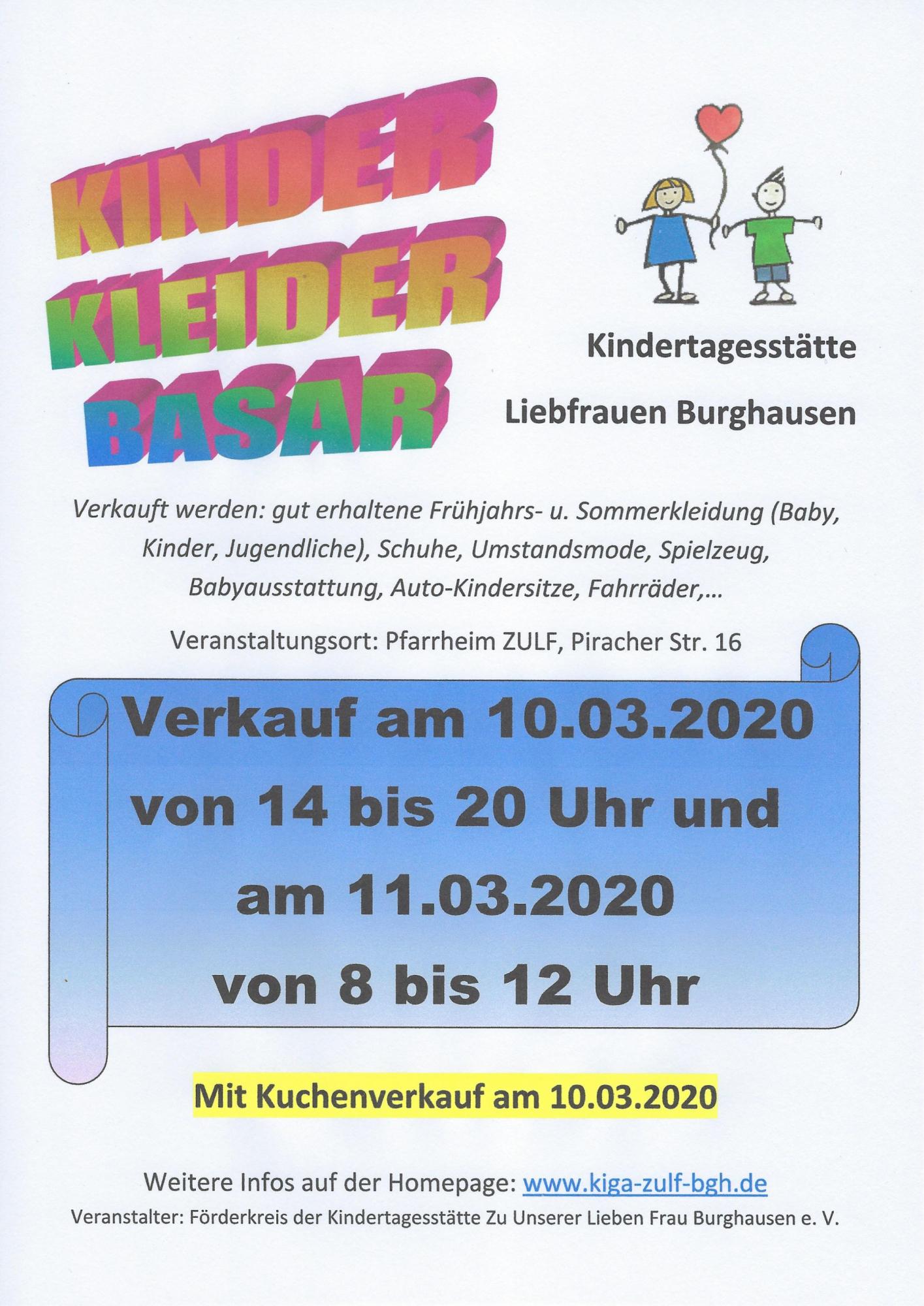 Kinderkleiderbasar 2020