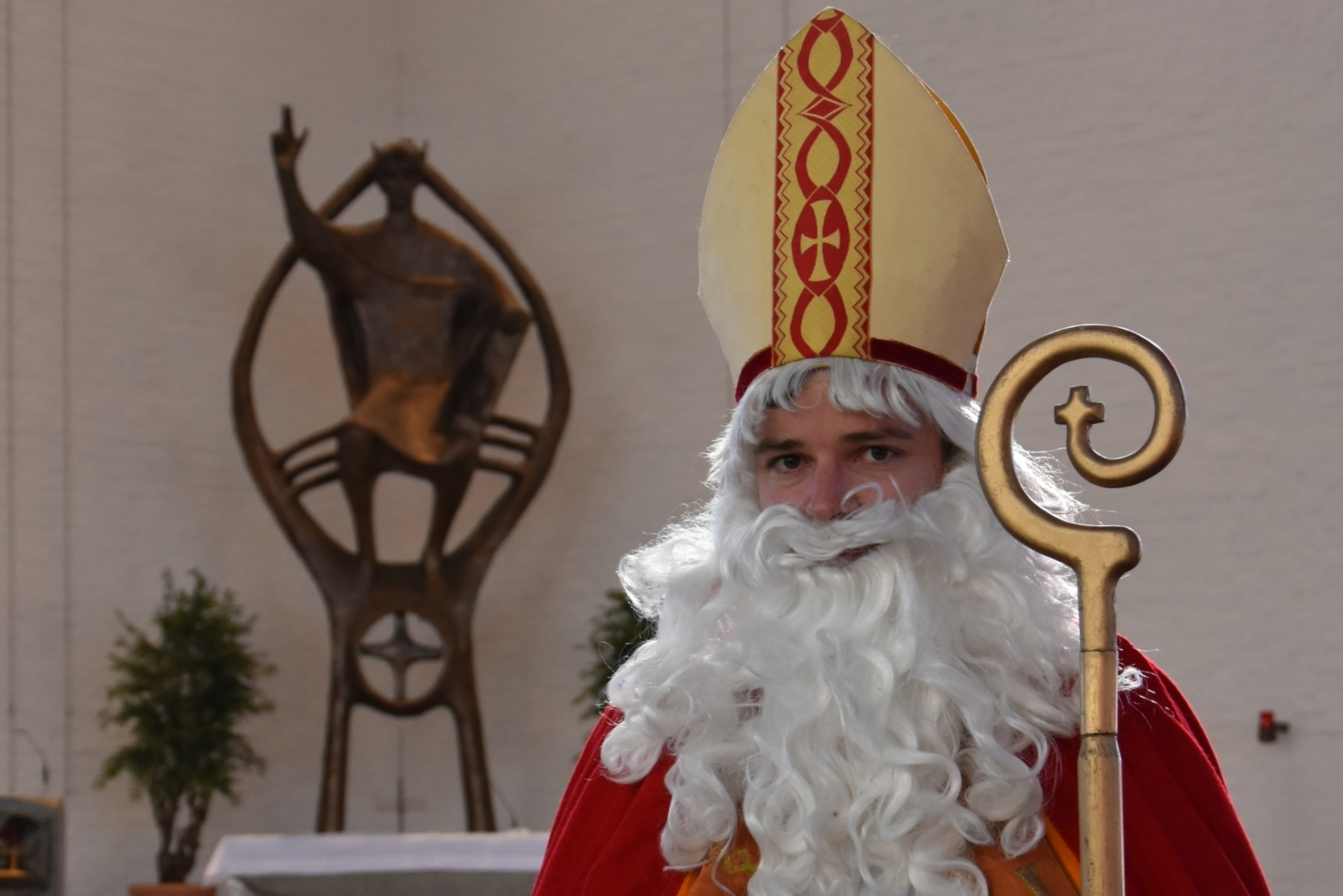 Nikolaus Bild in der Kirche ZULF 2