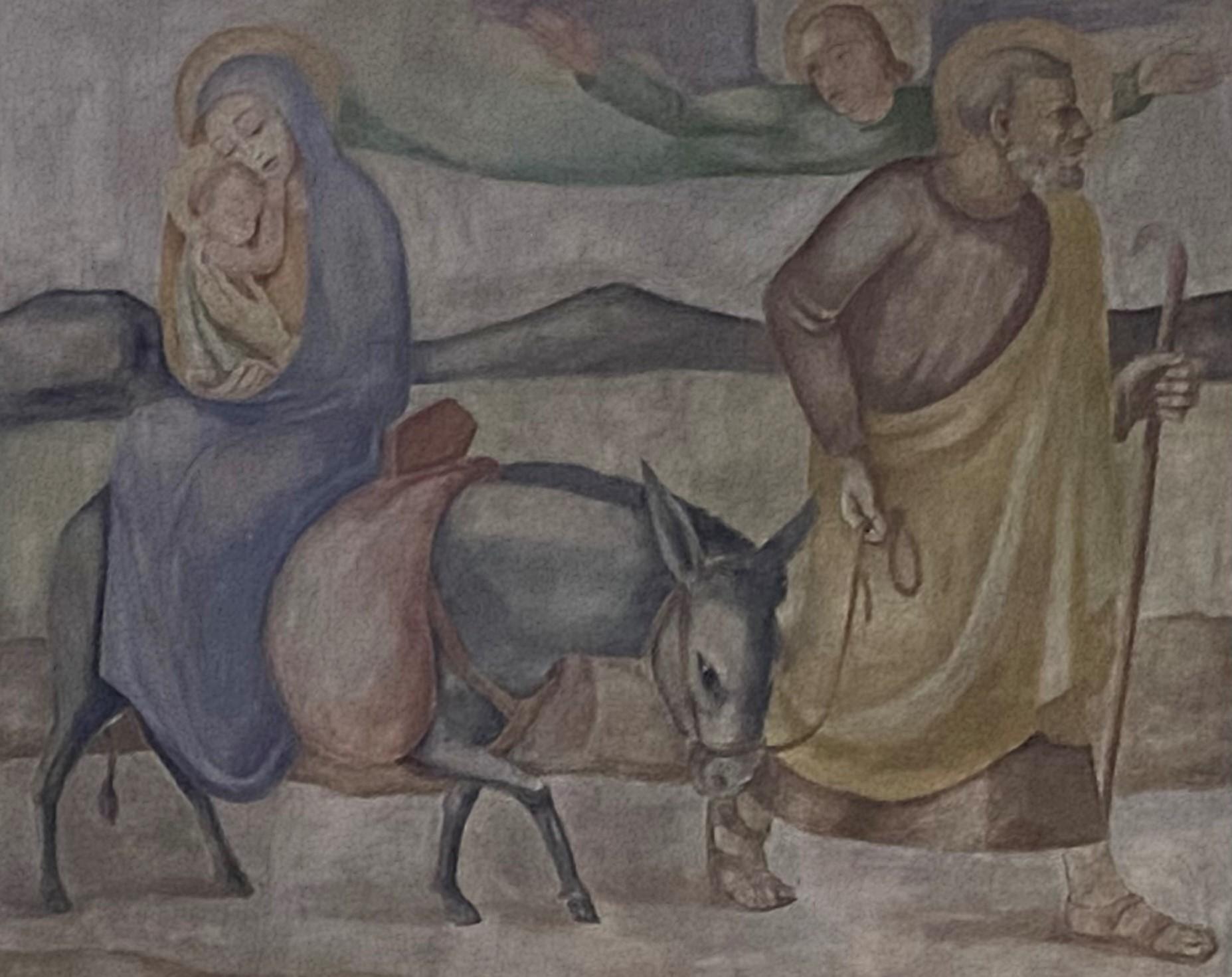 Auerbacher Bild Flucht